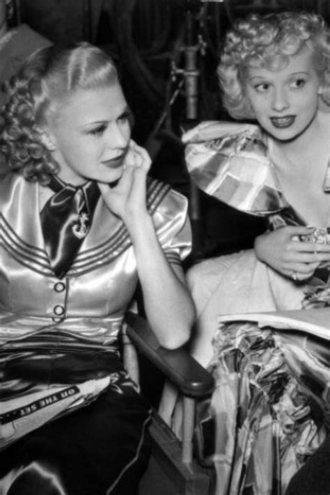 Lucille Ball and Ginger Rogers