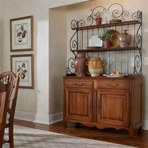 Genevive Baker39s Rack Buffet Cabinet Collection Maison