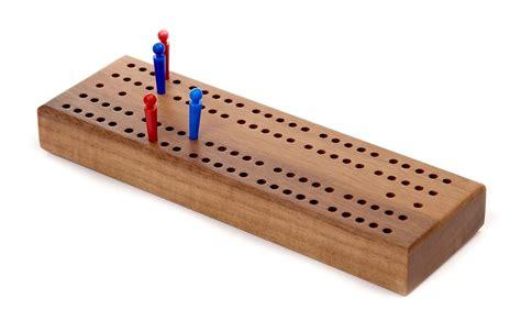cribbage board  wood zontik games