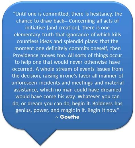 goethe commitment quotes quotesgram