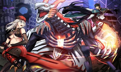 God Eater Anime Wallpaper - utsugi lenka and alisa illinichina amiella vs aragami hd