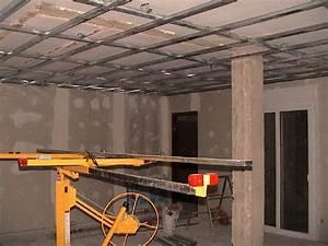 Como montar un techo de pladur hacer bricolaje es for Montar techo de pladur