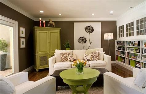 Living Room Ideas Green Brown by Color Combinations For Your Home
