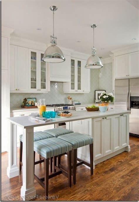 narrow kitchen island with seating narrow kitchen with island raised mirror modern 7063