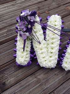 119 best images about funeral flowers on pinterest heart With letter wreaths for funerals