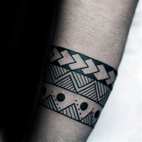 tribal armband tattoo designs  men masculine ink ideas