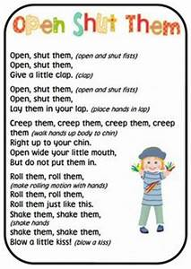 Songs & Finger plays Preschool on Pinterest