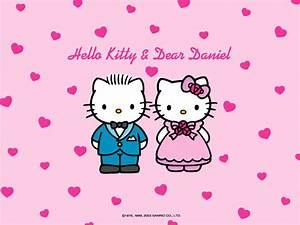 Hello Kitty and Dear Daniel Wedding Wallpaper | ImageBank.biz