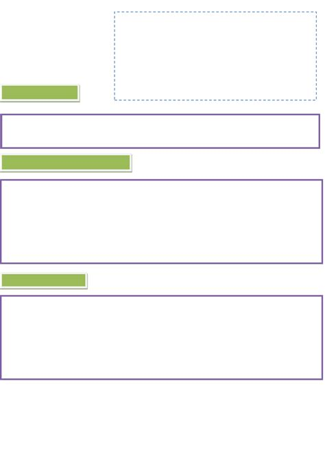 Blank Curriculum Vitae by Blank Cv Template Exle In Word And Pdf Formats