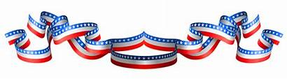 Flag Usa Clipart Band Decoration Memorial States