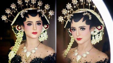 jadi model rias pengantin gadis cantik asal jakarta