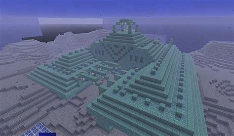 drained water temple  minecraft map