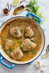 Curry Coconut Milk Chicken Thighs Recipe | Curry Chicken ...
