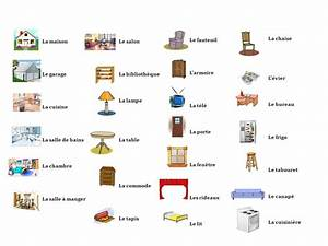 Mobilier En Anglais : le coin de fran ais carmelitas cartagena les pi ces de la maison ii les meubles ~ Melissatoandfro.com Idées de Décoration