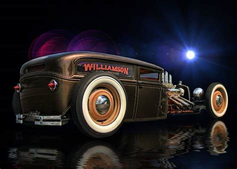 Hot Rod Art, Rat Rod Art And Hotrod Art