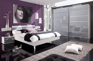 la chambre violette en 40 photos archzinefr With chambre a coucher contemporaine design