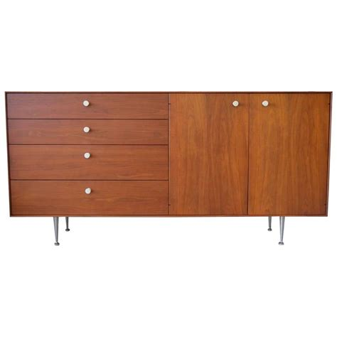 Herman Miller Credenza by Thin Edge Credenza By George Nelson For Herman Miller At
