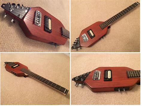 Travel Guitar Homemade Guitar Portable Guitar Electric