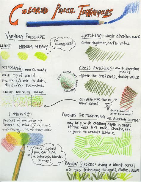 Coloring Techniques by Colored Pencil Techniques Menlo Park S Studio