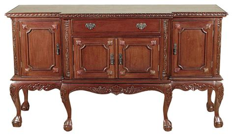 Traditional Sideboards And Buffets by Walnut Chippendale Buffet Sideboard Server Traditional