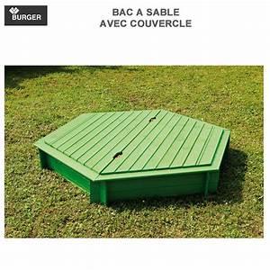 Bac à Sable Bois : bac sable bois hexagonal avec couvercle diam 180 cm 6 ~ Premium-room.com Idées de Décoration