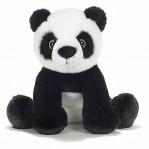 Grosse Peluche Panda : peluche panda assis 30 cm plush company mynoors ~ Teatrodelosmanantiales.com Idées de Décoration
