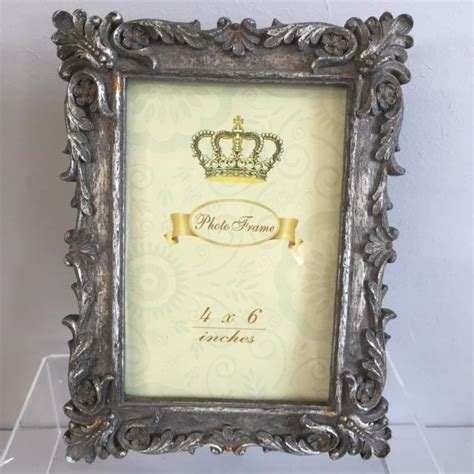 silver shabby chic picture frame photo picture frames silver gold mini intricate victorian shabby chic vintage ebay