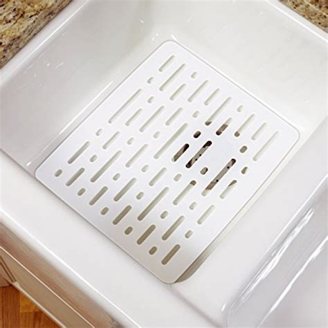 geekshive rubbermaid white sink mat dish racks