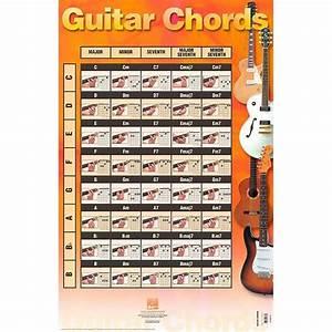 Hal Leonard Guitar Chords  Poster  634061097