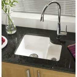 Kitchen Sink Undermount White by White Ceramic Single Undermount Kitchen Sinks On Granite