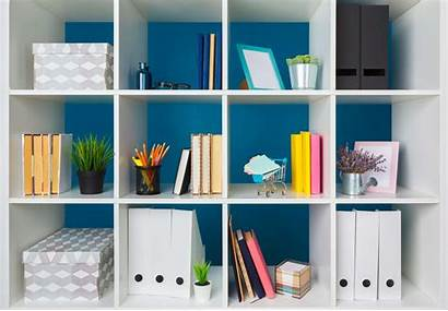 Office Organization Desk Shelves Supplies Creative Desktop