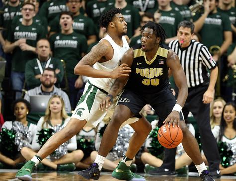 michigan state basketball game preview prediction  purdue