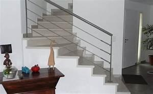 Prix Escalier Beton : modele escalier interieur maison rampe descalier interieur ~ Mglfilm.com Idées de Décoration