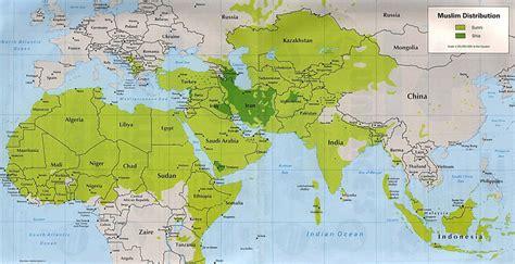 interesting times sunni  shia  map tells