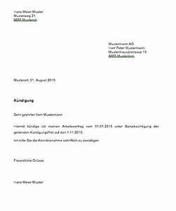 Wohnung Kündigen Per Email : k ndigung schreiben muster vorlage k ndigungsschreiben ~ Lizthompson.info Haus und Dekorationen