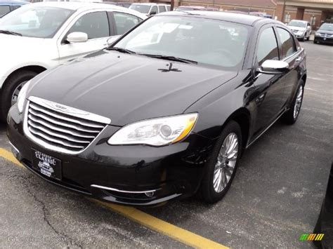 2011 Chrysler 200 Limited by Brilliant Black Pearl 2011 Chrysler 200 Limited