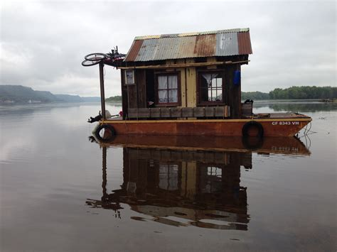Shanty Boat by Interactive Panorama Of The Shantyboat A Secret History