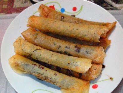 Ibu Menyusui Vegetarian Resep Roll Piscok Pisang Coklat 300 Resep Masakan Dan