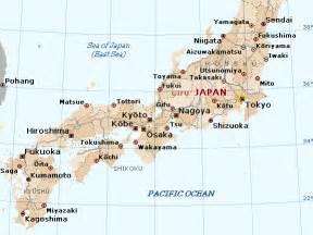 Japan Map Cities