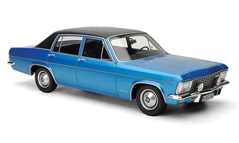 Opel Admiral B 2800s Blue/black Limitierte Auflage 1.000
