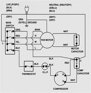 Air Conditioner Compressor Electrical Circuit Diagram