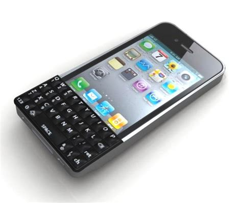 keyboards for iphone finally a real qwerty keyboard for the iphone 4 bit rebels