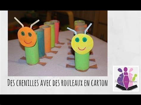 diy fabriquer des chenilles avec des rouleaux en activit 233 manuelle avec enfants