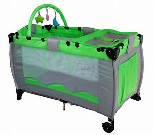 Portable Child Baby Travel Cot Bed Bassinet Playpen Play ...