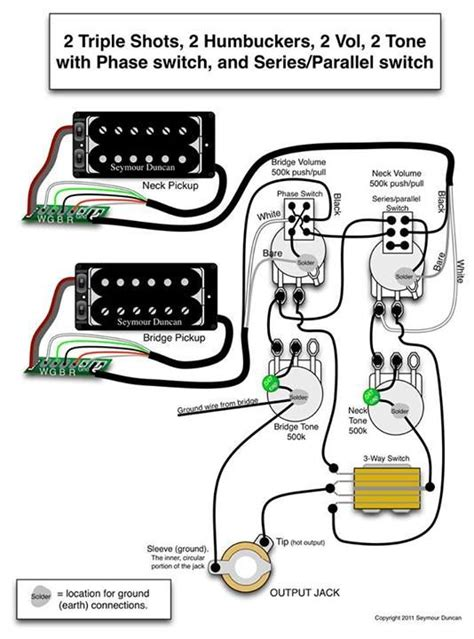 Guitar Wiring Diagram Stereo by Seymour Duncan Wiring Diagram 2 2