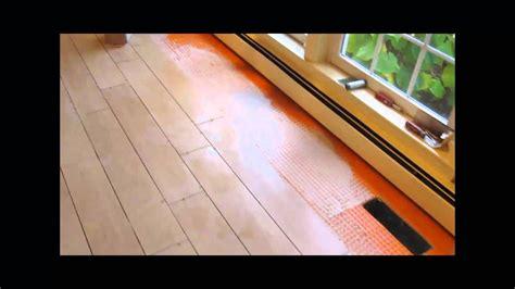ceramic tile wood  plank floor youtube