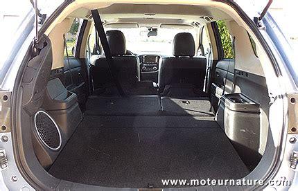 si鑒e voiture ergonomique mitsubishi outlander phev hybride rechargeable essai détaillé
