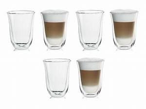 Latte Macchiato Gläser : delonghi doppelwandiges thermoglas latte macchiato 2er set ebay ~ Yasmunasinghe.com Haus und Dekorationen