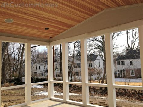 What Are Cathedral Ceilings by Homewood In Kirkwood Vaulted Porch Ceiling Amp Pvc Framing