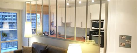 Verriere Interieur Cuisine - cuisine avec verriere interieur maison design bahbe com
